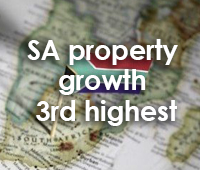 SA property growth 3rd highest