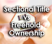 Sectional Title vs Freehold Ownership