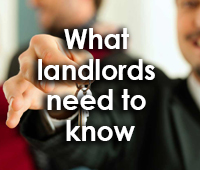 What landlords need to know