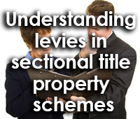 Understanding levies in sectional title property schemes