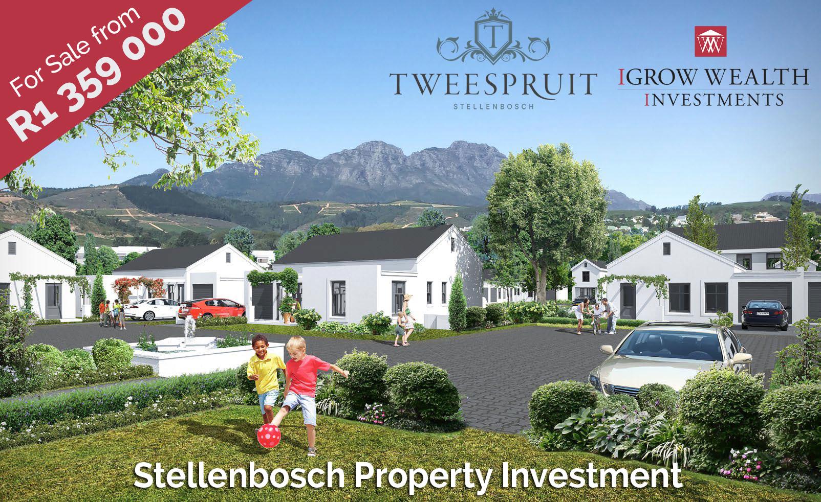 Stellenbosch student accomodation investment