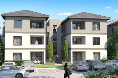 View of 3 Storey Unit